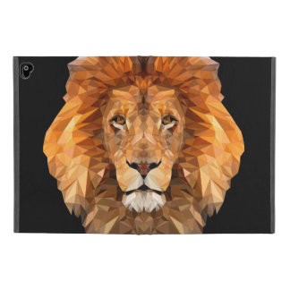 Low Poly Lion IPad case