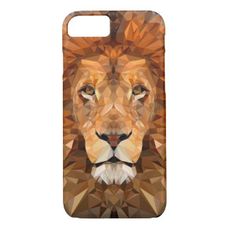 Low Poly Lion Phone Case