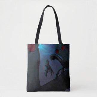 Low poly octopi bag