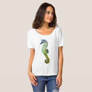 Low Poly Seahorse T-shirt