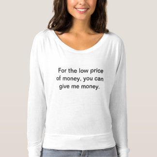 Low prices t-shirt