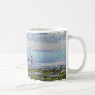 Low Tide Charmouth 2012 Coffee Mug