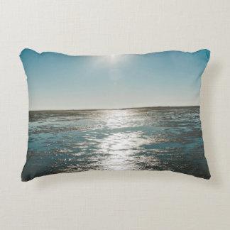 Low tide decorative pillow