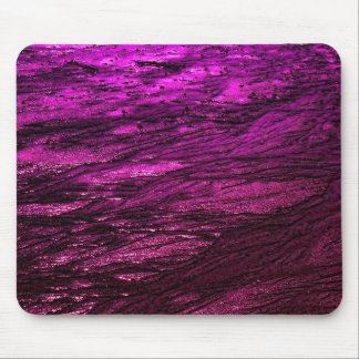 Low tide - fuchsia mouse pad
