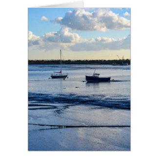 Low tide (portrait) card