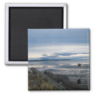 Low Tide Square Magnet