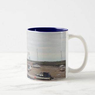 Low Tide Two-Tone Coffee Mug