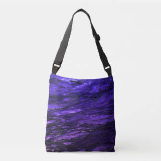 Low tide - violet crossbody bag