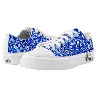 Low Top Shoes Mandala Mehndi Style G403
