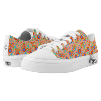 Low Top Shoes with Dots