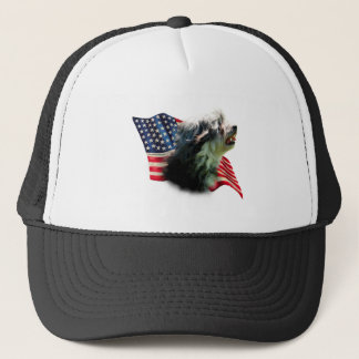 Löwchen Flag Trucker Hat