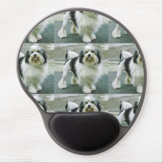 lowchen full 3 gel mouse pad