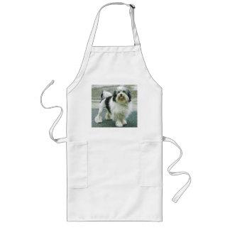 lowchen full 3 long apron