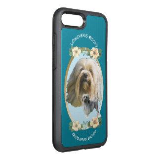 Lowchen, Turquoise Floral OtterBox Symmetry iPhone 8 Plus/7 Plus Case