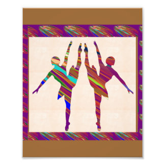 LowCost DECORATIONS on KODAK Paper : Dancer Singer Photo Art