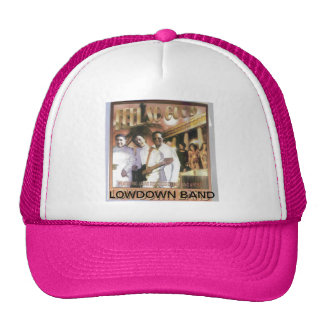 LOWDOWN BAND FEEL SO GOOD  LADIES CAP TRUCKER HAT
