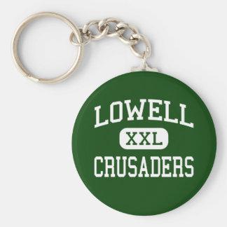 Lowell - Crusaders - Catholic - Lowell Keychain