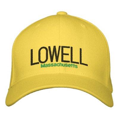 LOWELL, MA CHAPEAU BRODÉ
