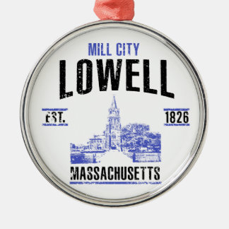 Lowell Metal Ornament
