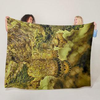 Lowenburg Castle, Germany Acrylic Art Fleece Blanket