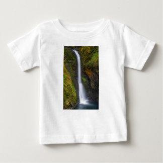 Lower Butte Creek Falls in Fall Season Baby T-Shirt