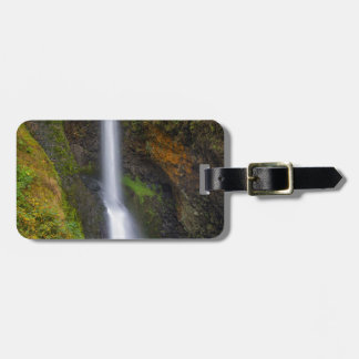 Lower Butte Creek Falls in Fall Season Luggage Tag