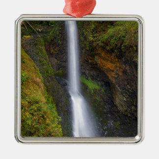 Lower Butte Creek Falls in Fall Season Metal Ornament