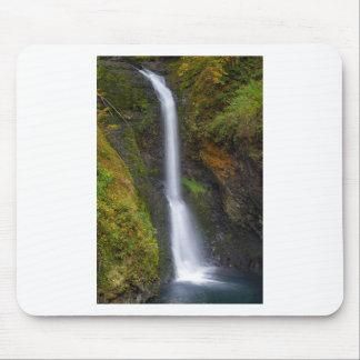 Lower Butte Creek Falls in Fall Season Mouse Pad