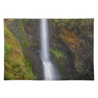Lower Butte Creek Falls in Fall Season Placemat