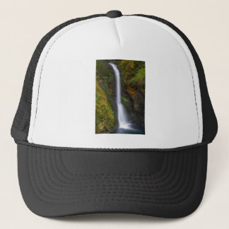 Lower Butte Creek Falls in Fall Season Trucker Hat