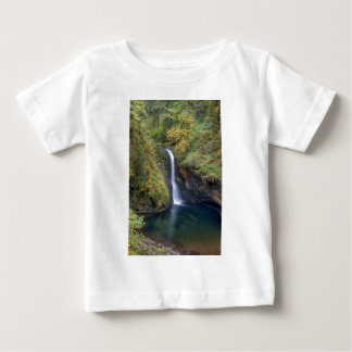 Lower Butte Creek Falls Plunging into a Pool Baby T-Shirt