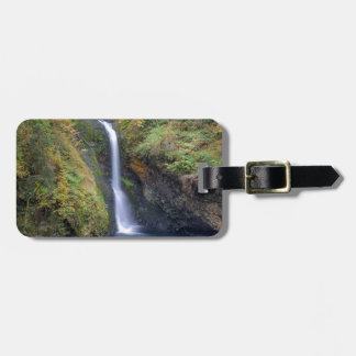 Lower Butte Creek Falls Plunging into a Pool Luggage Tag