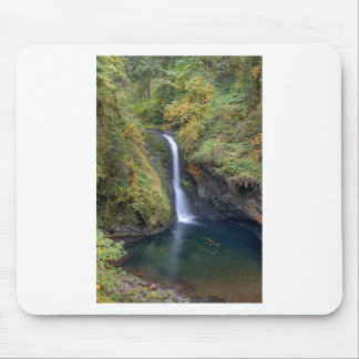 Lower Butte Creek Falls Plunging into a Pool Mouse Pad