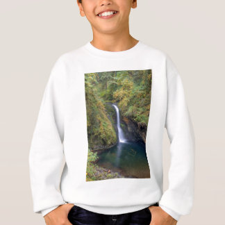 Lower Butte Creek Falls Plunging into a Pool Sweatshirt