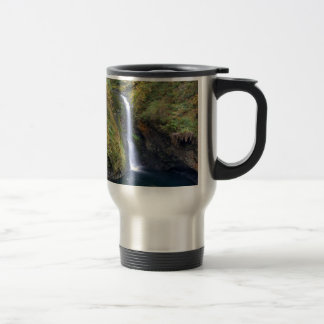 Lower Butte Creek Falls Plunging into a Pool Travel Mug
