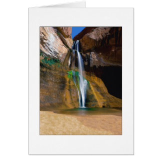"""Lower Calf Creek Falls"" Card"