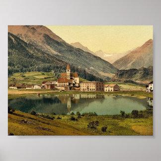 Lower Engadine, Tarasp, Fontana, Grisons, Switzerl Poster