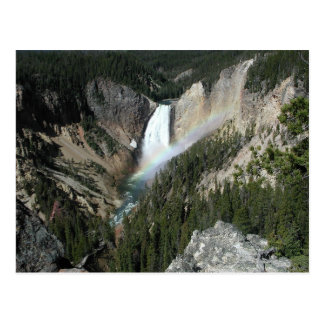 Lower Fall Yellowstone Postcard