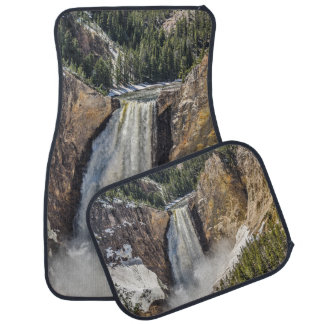Lower Falls of the Yellowstone in Spring Car Liners