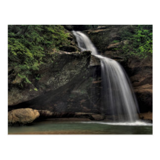 Lower Falls, Old Man's Cave, Hocking Hills Postcard
