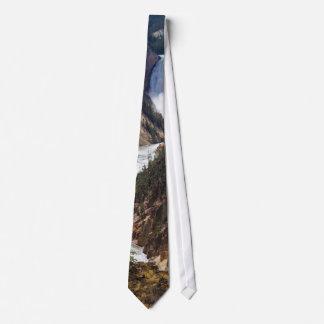 Lower Falls Yellowstone Tie