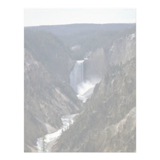 Lower Falls, Yosemite National Park Letterhead