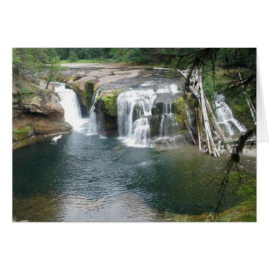 Lower Lewis River Falls Card