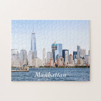 Lower Manhattan Color Sketch Puzzle