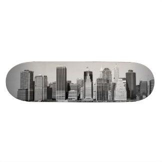 lower Manhattan Skyline, New York City Custom Skateboard