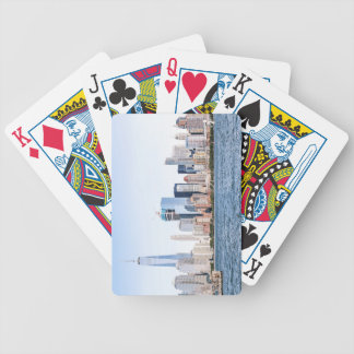 Lower Manhattan Skyline Playing Cards