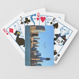 Lower Manhattan Skyline: WTC, Woolworth Poker Deck