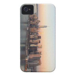 Lower Manhattan Sunset WTC Freedom Tower NYC iPhone 4 Case-Mate Case