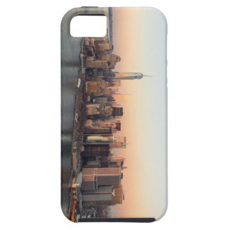 Lower Manhattan Sunset WTC Freedom Tower NYC iPhone 5 Covers