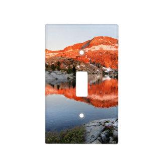 Lower Ottoway Lake Sunset - Yosemite Light Switch Cover